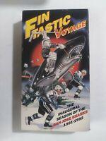 San Jose Sharks Fintastic Voyage Inaugural Season 1991-1992 VHS Tape t5