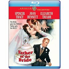 FATHER OF THE BRIDE (1950 Spencer Tracy)-    Blu Ray - Sealed Region free