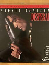 Desperado Laserdisc 1996 - tested - free shipping - ANTONIO BANDERAS - SALMA