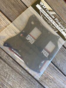 Custom Pickguard For Gibson 1963-1970 Full Face SG Black Thin Single Ply