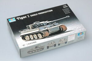 Trumpeter 07242 1/72 German Tiger I Early Production