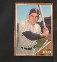 1962 Topps # 360 Yogi Berra NM-MT