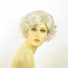 Perruque femme courte grise MATHILDE 60