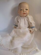 "SCIOTO Anatomically Correct Porcelain 17"" Newborn Baby Boy Doll 1985 RARE #646"