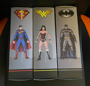 DC 52 Cel Shaded Jim Lee Figure - Batman, Superman and Wonder Woman