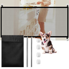 180*78CM Pet Dog Baby Magic Safety Gate Mesh Fence Portable Guard Indoor Playpen