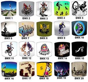 Olympics BMX Bikes Lampshades Ideal To Match BMX Bikes Duvet BMX Bike Wallpaper