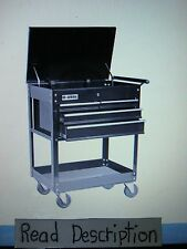 Harbor freight COUPON 26'' 4 DRAWER TOOL CART box shop garage roll away chest