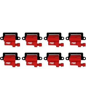 MSD 82648 Blaster LS Coil for 99-09 GM L-Series Truck, 8,Pack