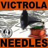 100 MEDIUM Toned NEEDLES Victrola Gramophone Phonograph Reproducer Records