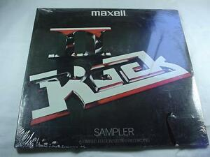 Maxell Rock Sampler II - Outlaws + Poco + Triumph - Sealed New -