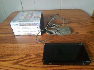 Black Nintendo DS Lite System with 4 Games Bundle Imagine Designer