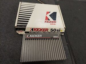 BRAND NEW DISPLAY RARE OLD SCHOOL KICKER 50Si MADE IN USA