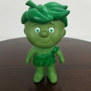 """Vintage Jolly Green Giant Little Sprout Boy Rubber Vinyl Doll Toy Collectable 6"""""""