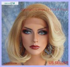 Lace Front Wig HAND TIED FRONT T27.613 SOFT SEXY LAYERED BOB  US SELLER *260