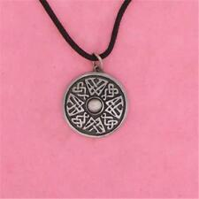 ENGLISH PEWTER - CELTIC SHIELD - PENDANT NECKLACE GIFT PAGAN