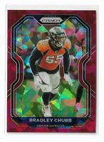 2020 Panini prizm red cracked ice parallel Bradley Chubb Denver Broncos