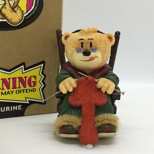 ❤️ 'BAD TASTE BEARS' FIGURINE 'PEARL' SUPERB CONDITION! BOXED!
