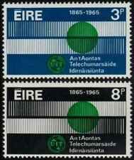 ✔️ IRELAND 1965 - ITU GLOBE & COMMUNICATION - SC. 198/199 MNH OG [IR0170]