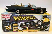 BATMAN BATMOBILE CORGI TOYS BOXED WITH BOX / ROCKET FIRING