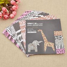 1 Set Square Origami Paper DIY Animal Children Handmade Paper Craft Multicolor