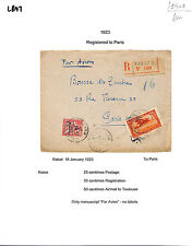 Aviation Cover African Stamps
