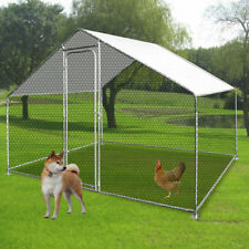 Chicken Run Coop Cage suitable For Pets Hens Rabbit Dogs Ducks With Rain Cover