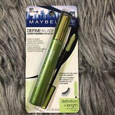 Maybelline Define-A-Lash Length  Washable Mascara 801 Black - 0.22 fl.oz./6.5ml