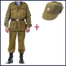 Soviet Russian Army Suit Afghanka (Jacket+Pants) Afghanistan War Size 48- 56