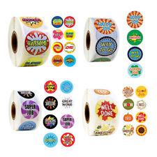 500 pcs/pack Motivational words sticker teacher reward sticker MW