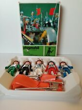 Playmobil 3130 v1 - Knights Set COMPLETE in rare FIRST EDITION GREEN Box (OVP)