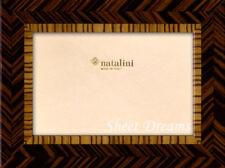 Natalini Hand Made Italy Marquetry Schiera Ebano Zebrano Picture Photo Frame
