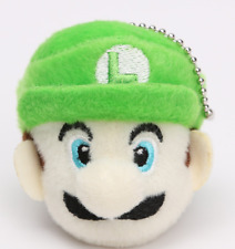 Super Mario Bros. LUIGI Plush Doll keychain pendant keyring