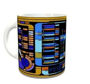 Star Trek TNG The Next Generation - Coffee MUG CUP - Sci-fi - Ship Computer UI