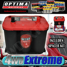 OPTIMA 34R RED TOP BATTERY 12 VOLT NEW AGM R34 800CCA HIGH PERFORMANCE START