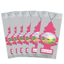 Little Trees Car Air Freshener 6-Pack (Morning Fresh)