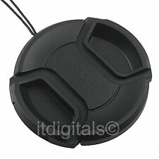 Front Lens Cap For JVC Camcorder GZ-HM300 GZ-HM320 Snap-on Glass Cover