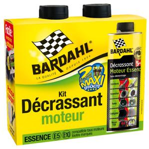 BARDAHL Pack Décrassant moteur Essence 5 en 1 GSA Turbo Vanne EGR Soupape FAP