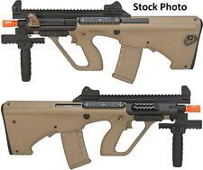 NIB ASG Proline Steyr AUG A3 XS Commando Carbine AEG Airsoft Rifle Tan/Black