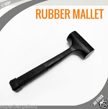 RUBBER MALLET 3LB HAMMER SOFT FACE HEAVY BLOW NON SLIP AUTO BODY REPAIR