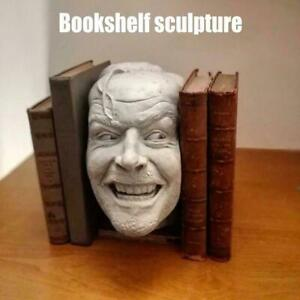 Sculpture Of The Shining Bookend Library Here's Johnny Sculpture Desktop Decor