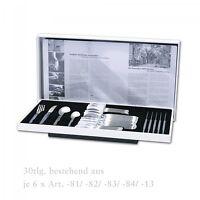 2722-03 Pott 22, Edelstahl, Tafelbesteck 30 tlg. Besteck Set