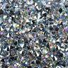 130 Stück Dekosteine klar 10mm Spiegeldiamanten Dekodiamanten irisierend