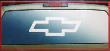 chevy gmc duramax rear window graphics sticker decal  white