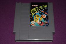 SKATE OR DIE - Ultra Games/Palcom - Jeu Skate NES FAH EEC