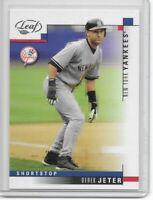 2003 Leaf Derek Jeter New York Yankees # 69  (10)