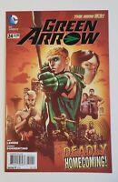 Green Arrow #24 1st Appearance of John Diggle DC Comics (2013)