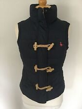 Jack Wills Ladies Navy Duck Down Feather Gilet Size 8. Great Condition.