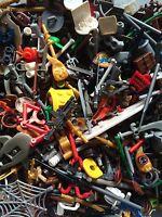 ☀️NEW! Authentic Lego Minifigure Parts Weapons Accessories 50 Lego Parts random