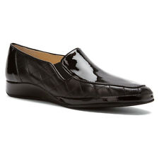 New Amalfi by Rangoni Enrico Womens Loafer Shoes Black Patent /Nappa Size 10M